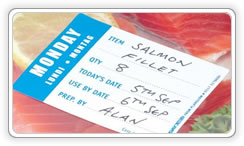 Food labelling :: dayprep labels