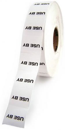 Double Line Use By Label Refill